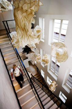 Peter Gentenaar  Cloud installation,  Office of Joop van den Ende, Amsterdam