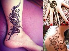 Prírodná henna pre dočasné tetovanie. Poštovné ZADARMO! | Zásielkonoš Hand Henna, Hand Tattoos