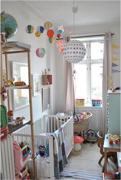 Skønt lille pigeværelse