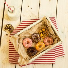 Mini baked doughnuts recipe | BakingMad.com