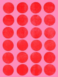 Color Play_Flamingo - Art Print by Garima Dhawan/Society6
