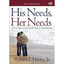 Bible study ideas:  His Needs, Her Needs DVD Study