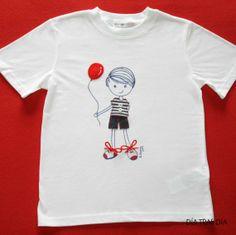 """Camiseta """"Dewito"""" marinero / Día tras Día - Artesanio"""