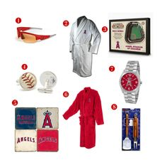 8 Great Father's Day Gift ideas for the avid Los Angeles Angels Fan! See all of our Angels gifts at http://www.topnotchgiftshop.com/los-angeles-angels-of-anaheim.html