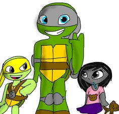 Request (Mikey and Denver's kids Spike, Dickey, and Minnie)