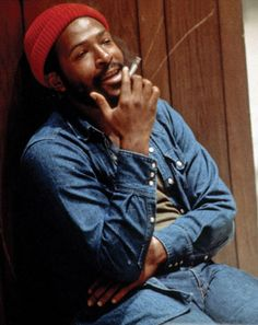 Marvin Gaye  1939-1984  Singer and songwriter Left: circa 1980