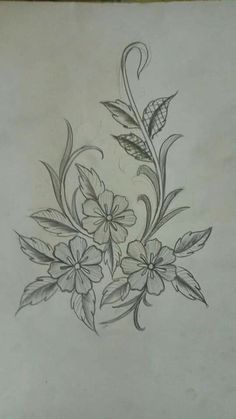 17 sites with fun and free hand embroidery patterns – artofit – artofit Border Embroidery Designs, Embroidery Suits Design, Embroidery Flowers Pattern, Embroidery Patterns Free, Hand Embroidery Stitches, Embroidery Techniques, Embroidery Art, Flower Art Drawing, Flower Sketches