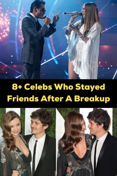 Breakups in Hollywood are never easy. When kids — and the spotlight — are involved, a lot of celebs have to keep things as friendly as possible. Others, however, remained friends just 'cause. Here are 10+ celebs who stayed friends after a messy breakup. Lilac Nails, Neon Nails, Good Marriage, Marriage Tips, Flame Nail Art, Mommy Humor, Fuuny Memes, Merrie Melodies, Hip Tattoos Women
