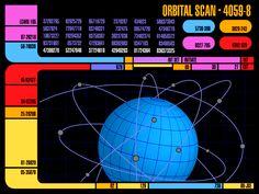 LCARS orbital scan