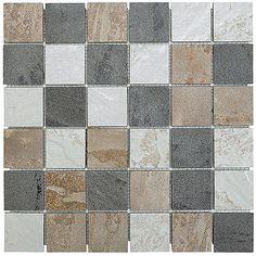 Carreaux en mosaïque pour plancher « Castelli » - Rona
