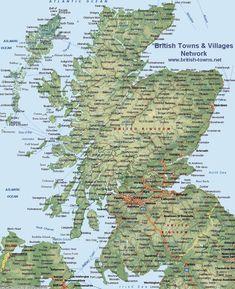 map scotland - Google Search