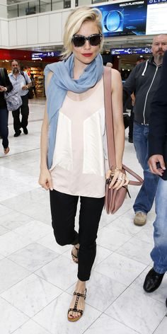 135 Celebrity-Inspired Outfits to Wear on a Plane - Sienna Miller  from #InStyle