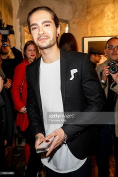 Tom Kaulitz, guitarist of the band Tokio Hotel and brother of Bill Kaulitz attend the photo art exhibition and book launch of BILLY at Seven Star Gallery on May 4, 2016 in Berlin, Germany.
