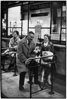 Henri Cartier-Bresson - Paris. 1968. Gare de Lyon.