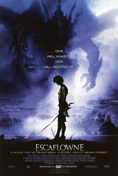 // Escaflowne Version: Movie // Type of item: Poster // Company: ?? // Origin: USA // Release: ?? // Other notes: Not for sale //