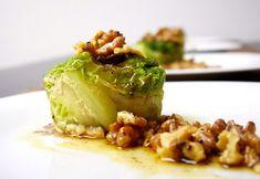Tortini+di+verza+con+olio+alle+noci