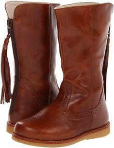 Elephantito - Tasseled Boot (Toddler/Little Kid/Big Kid) (Saddle Brown) - Footwear $95.00 thestylecure.com