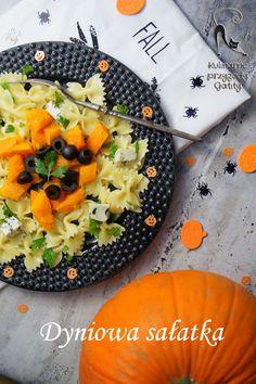 Kulinarne przygody Gatity: Sałatka makaronowa z pieczoną dynią