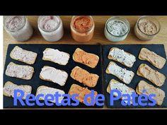 RECETA de 5 clases de PATÉS CASEROS - YouTube