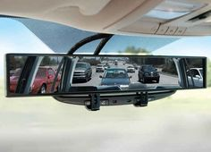 The No-Blind-Spot Rearview Mirror