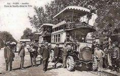les autobus dans les années 1900                                                                                                                                                                                 Plus