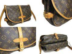 Louis Vuitton Monogram shoulder bag  g94504672 by gailparker4, $397.00