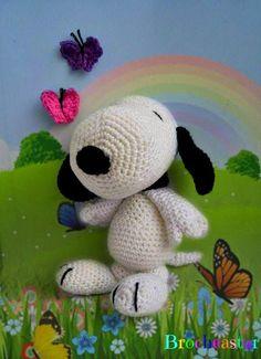 Patron Snoopy traducido del ingles.           Abreviatura   Pb- punto bajo   Inc- aumento   Diciembre- disminución       Cabeza   • Con blan...