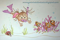 Pintura de quartos de crianças e bebés Decoração infantil