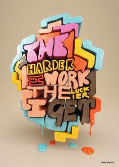 Exemplos modernos da tipografia Projeto e Typefaces - 32