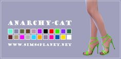 Madlen Ambrogio Shoes at Anarchy-Cat • Sims 4 Updates