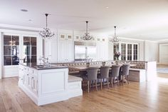Large Kitchen & Dining Area | Open Concept