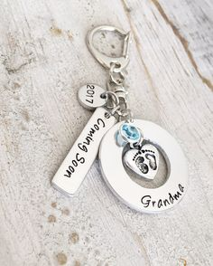 Pregnancy Reveal to Grandparent - Pregnancy Reveal to Family - Surprise Pregnancy Announcement - Grandpa to be - Grandma to be - Coming Soon by StampsofLove4 on Etsy
