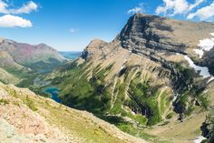 Mt. Grinnell From Swiftcurrent Pass -- Logan Pass to Many Glacier Via Highline and Swiftcurrent Pass Trails, Glacier National Park, Montana | pinned by haw-creek.com