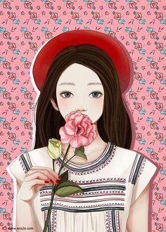 GIRL by ENSEE   Choi Mi Kyung   Fashion-Illustration-1.