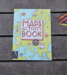 MAPS Activity Book is filled with loads of great activities, all based on encouraging children to learn and discover the different countries, continents and cultures around the world. http://babyccinokids.com/blog/2014/08/06/maps-activity-book/ #activity #books #children