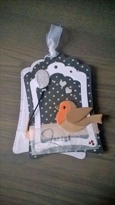 Ideas for origami christmas cards scrapbook paper Christmas Origami, Christmas Tag, Bird Cards, Butterfly Cards, Pop Up Cards, Cute Cards, Origami Owl Disney, Marianne Design Cards, Origami Envelope