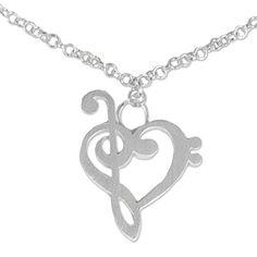 "NOVICA .925 Sterling Silver Charm Anklet, 9.75"" 'Music of Love'"