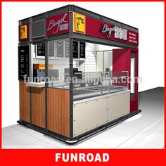 Unique Design Food Mall Kiosk Ideas