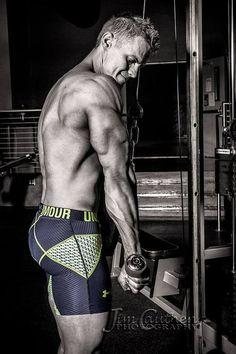 Photographer: Jim Cauthen | #underarmour #triceps