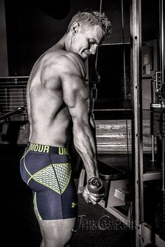 Photographer: Jim Cauthen | #underarmour #triceps