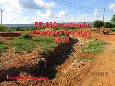 Santa Filomena Atual: As tristes cenas causadas pelo abandono da PE-630 ...