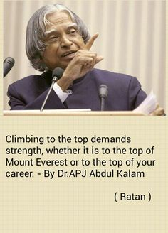 How is Dr APJ Abdul Kalam a role model?