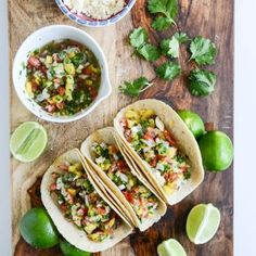 Ginger Garlic Steak Tacos with Pineapple Pico de Gallo