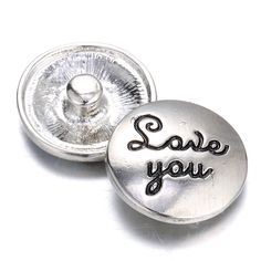 10pcs/lot 2016 New Fashion Snaps Save You Alloy Round 18mm Snap Buttons Charms…