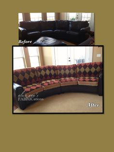Diy Sofa Cover For Your Peeling Leather Sectional Blog Carlie