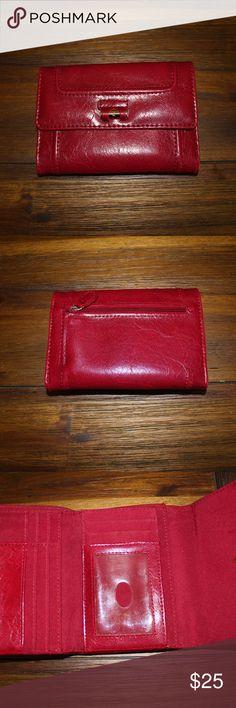 Liz Claiborne Wallet Liz Claiborne women's red wallet, used, like new Liz Claiborne Bags Wallets
