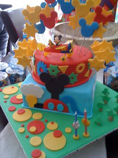 The Cupcake Stand: Mickey Mouse Clubhouse 2nd Birthday Cake