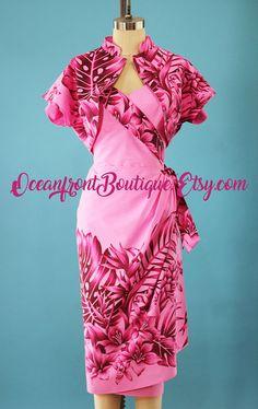 Vintage Tiki, Vintage Hawaiian, Style Vintage, Vintage Inspired Outfits, Vintage Outfits, Vintage Clothing, Island Style Clothing, Robes Pin Up, Tiki Dress