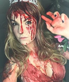 Pin for Later: 29 Spine-Chilling Halloween Costumes to DIY For Scary Cheap Carrie