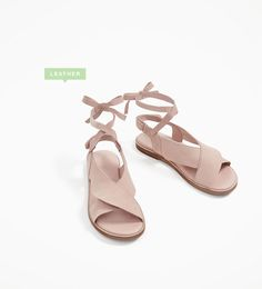 FRILLED LEATHER SANDALS-SHOES-GIRL | 4-14 years-KIDS | ZARA Canada